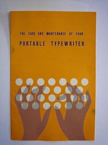FFFFOUND! | typewriter manual | Flickr - Photo Sharing! #cover #illustration #typewriter #manual
