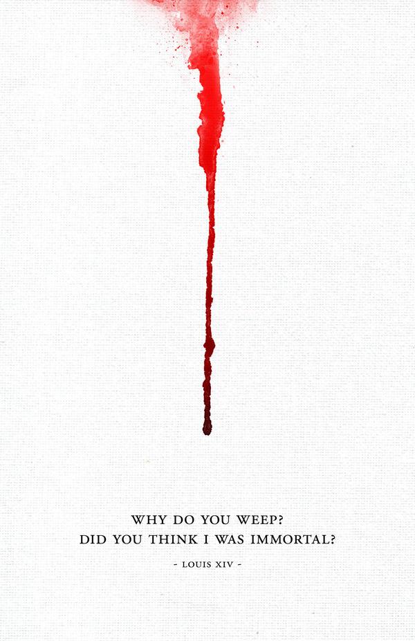 Lindi Koprivnikarwww.metanoiamethod.com #blood #dribble #design #paint #illustration #posters #layout #drip