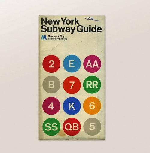 New York Subway Guide #guide #map #publication #subway #york #nyc #layout #new
