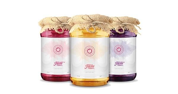 Taman Jam - Brand Identity & Packagings on Behance #jar #jam