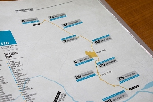 Jonas Eriksson » Every Reason to Panic #information #design #map #editorial #typography