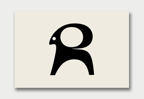 Gazelle #mark #logo #identity