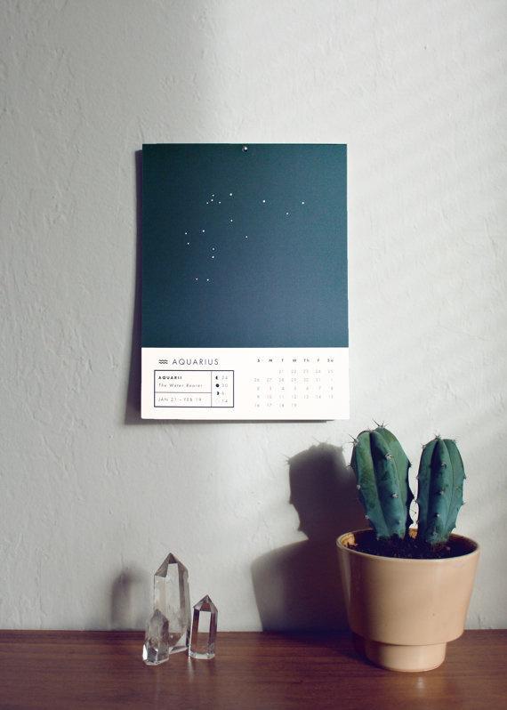 2014 Astrology Wall Calendar #astrology #calendar