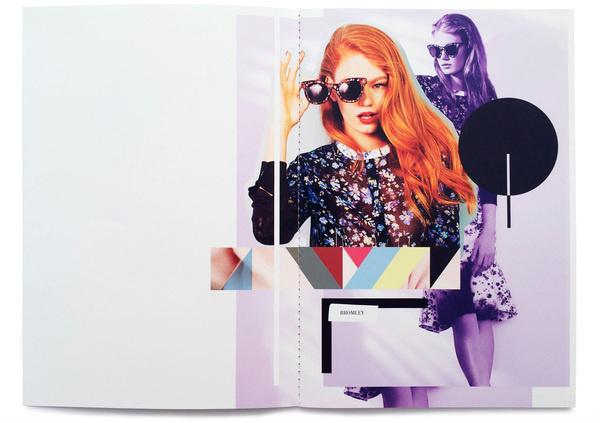StudioThomson – Preen Eyewear SS14 #layout #design #collage