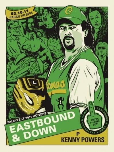 Derek Deal, Here's a look at my PaleyFest 2011 poster for... #derek #print #deal #poster