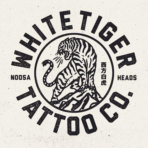 Logo for a mates new venture @mitch13tattoodtd @whitetigertattooco #design #staybold #whitetigertattooco #tattoo