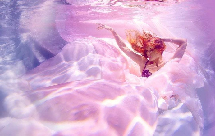 Incredible Underwater Fashion Photography by Michael David Adams