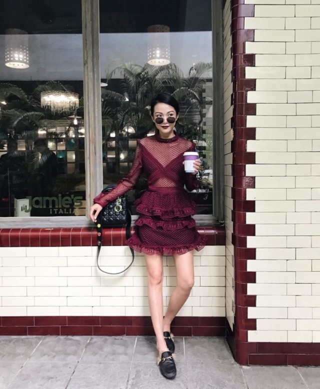 Yoyo Cao on Snapchat: Snapchat Selfies and Portraits by Singaporean Fashion Blogger