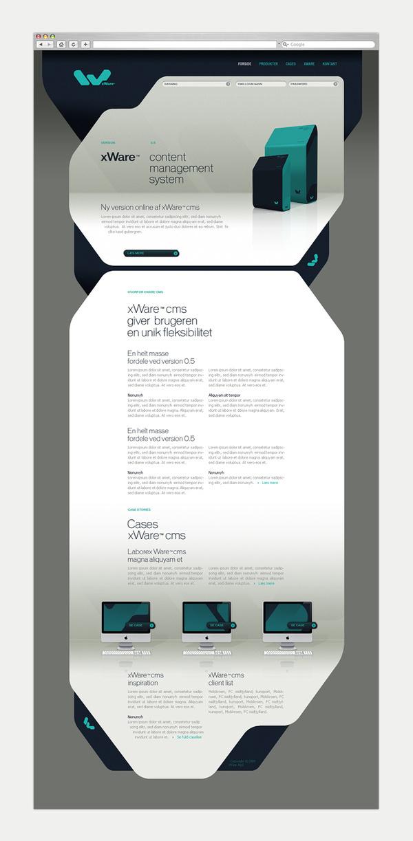 xWare Corporate Identity on Behance #webdesign