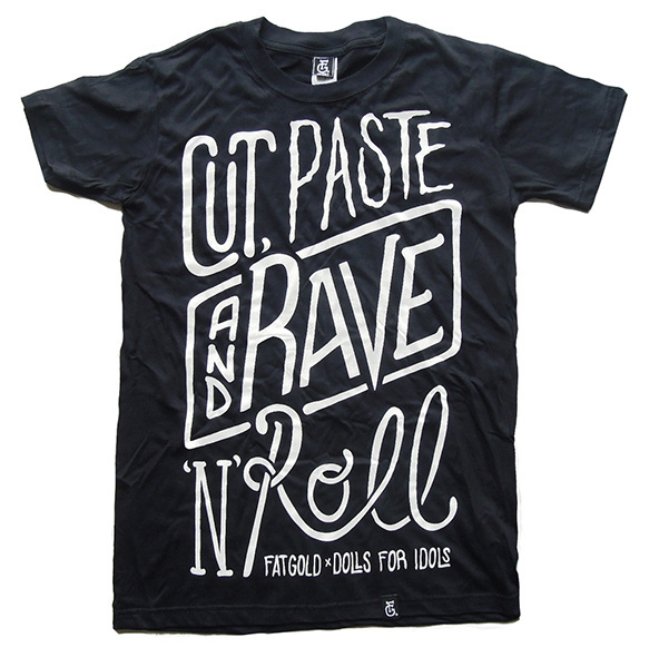 T-shirt printing & design inspiration: Typographic t-shirts #shirt #typography