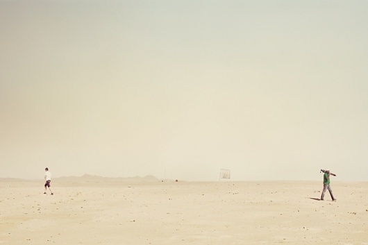 Somewhere in the Middle of Nowhere on the Behance Network #egypt #photography #desolate