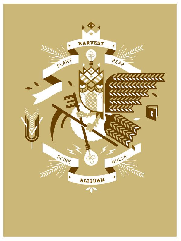 Owl_UVU_PP_poster_1020 #banner #owl #poster #wheat
