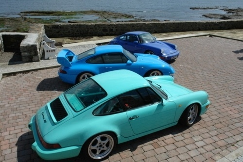 • pacepirate #cars #blue #porsche