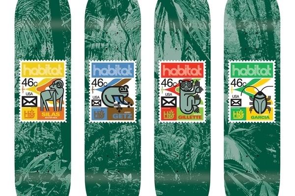 Joe Castrucci #castrucci #deck #illustration #joe #habitat #skateboard