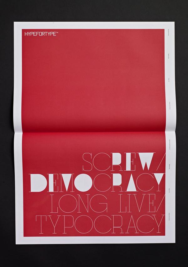 Typographic Revolt HypeForType Typefaces #ryan #atkinson