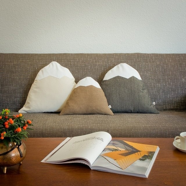 Mountain Pillows #tech #flow #gadget #gift #ideas #cool