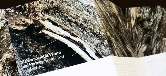 worm und-partner / Raffael Stüken / Büro für Grafik Design #identity