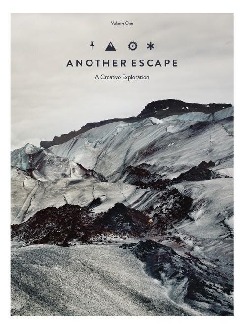 Another Escape (UK) #design #graphic #cover #editorial #magazine