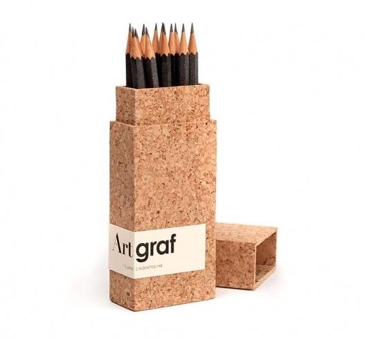 ArtGraf - TheDieline.com - Package Design Blog #pencils