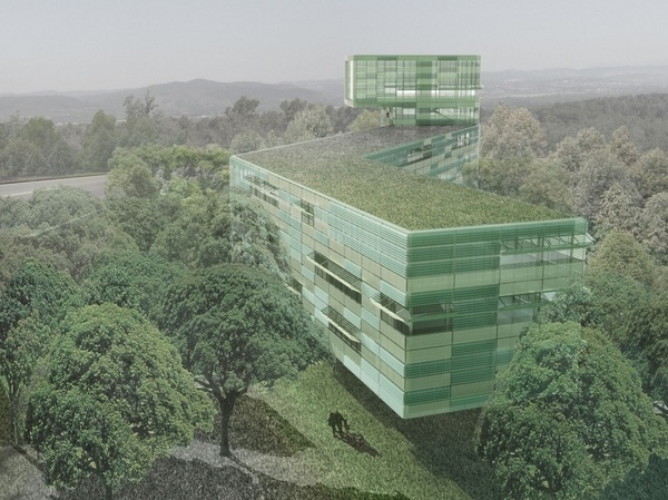 ITER, Complementary Buildings CEA CADARACHE / Juan Herreros Arquitectos #renderings #herrerros #architecture #facades