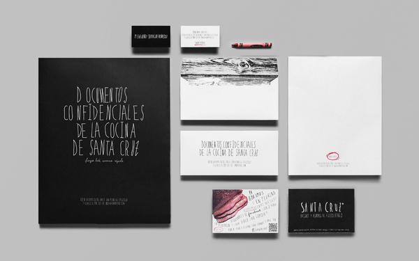 Anagrama | Santa Cruz #stationery #design #packing #typography