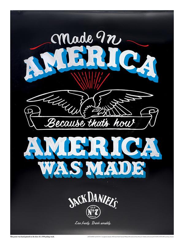 jack2 #america #daniels #jack #poster #advert