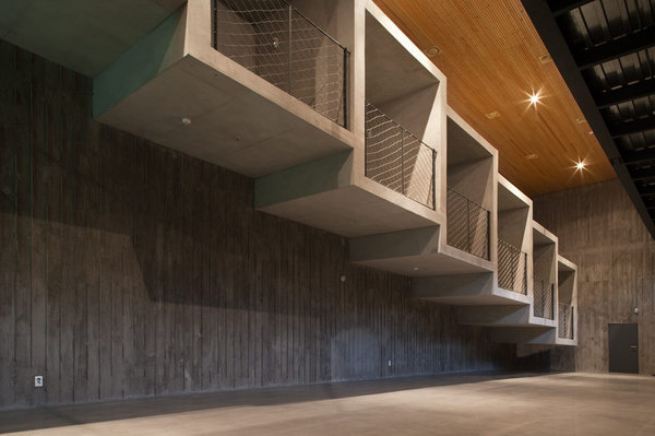 CJWHO ™ (BCHO architects   heyri theater and hotel, paju,...) #theater #facade #korea #design #south #photography #architecture #hotel