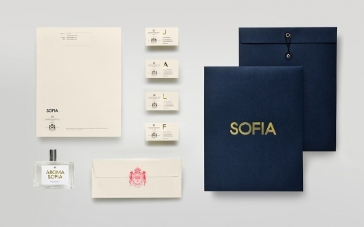 Anagrama | Sofia by Pelli Clarke Pelli Architects #packaging #print #identity #stationery #logo