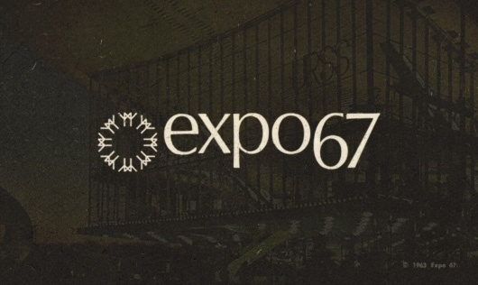 WANKEN - The Blog of Shelby White » Behind the Expo 67 Logo #expo #world #design #fair #1960s #67 #logo #midcentury