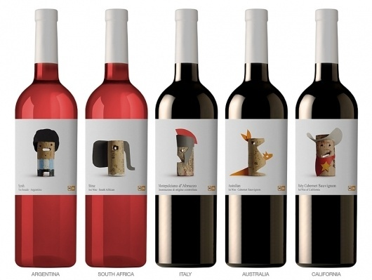 WINES OF THE WORLD | Lavernia & Cienfuegos #packaging #label #wine