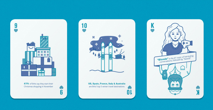 Facebook's NEW Deck of Playing Cards With Marketing Insights for Agencies
