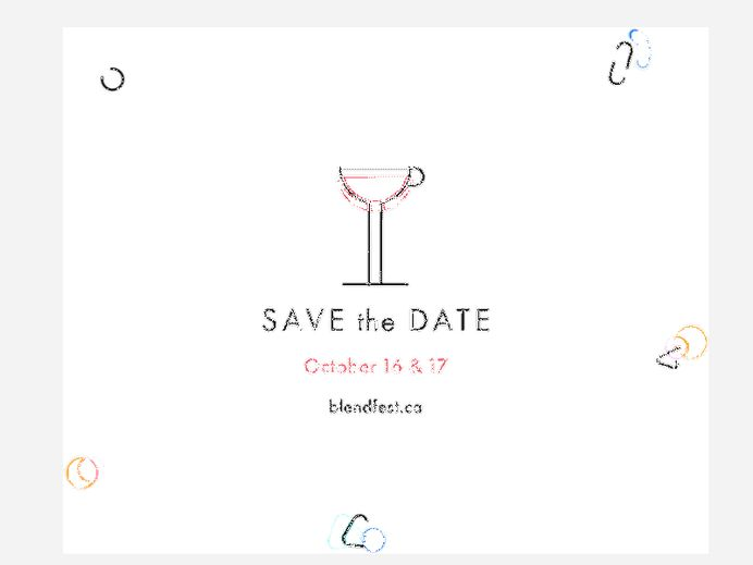 Blend - SAVE the DATE