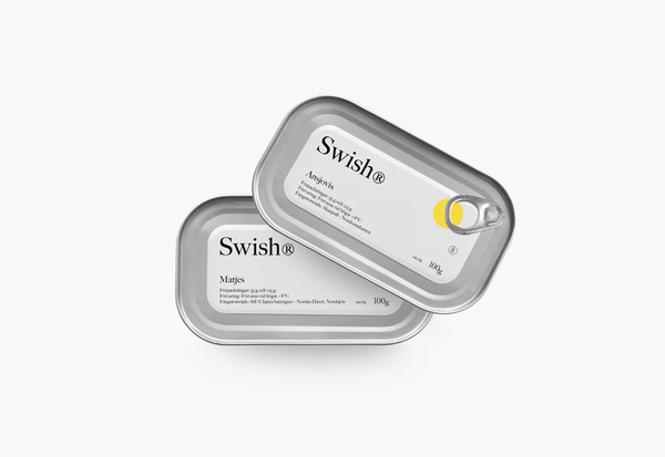 Packaging for Swedish seafood brand Swish® designed by Empatia #packaging