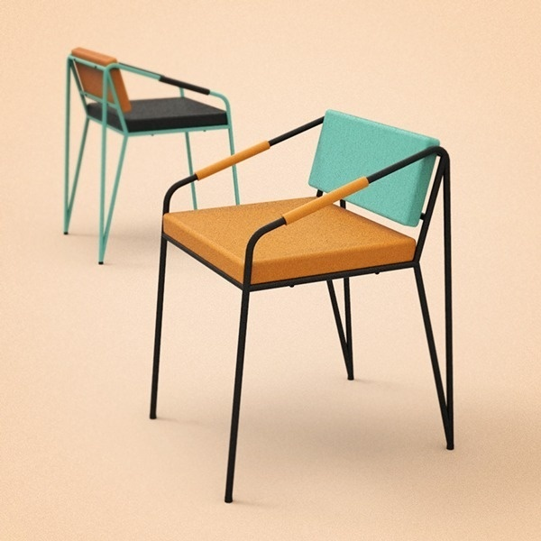 Sergio Martinez #pantones #chairs