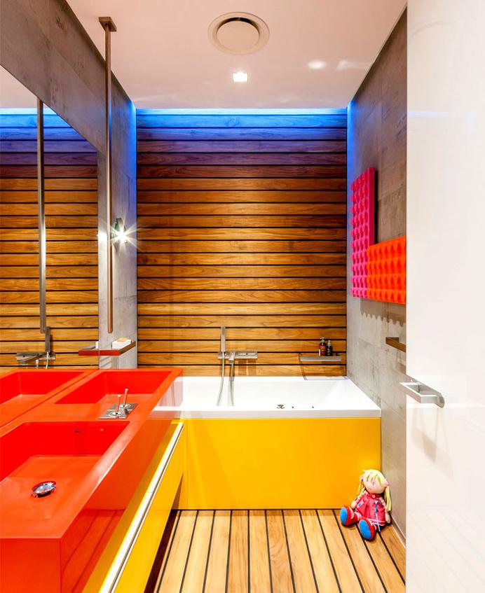 Apartment Kvartira_V 21by Valentirov & Partners - bathroom, bathroom design, bath, interior design, #bathroom