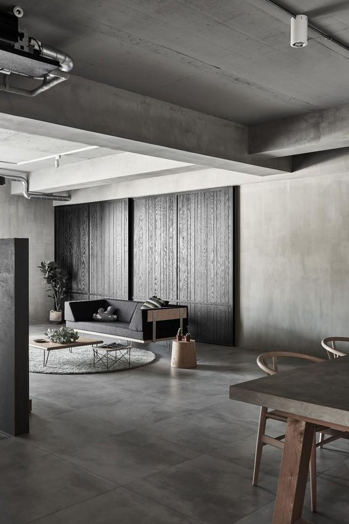 Simplistic Aesthetics with Industrial Elements Gentle Heart of Steel by HAO Design 3