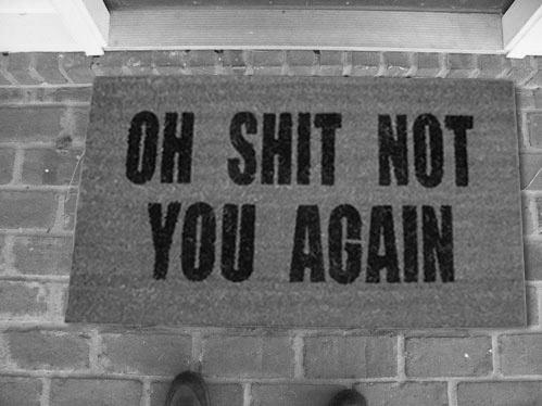soggetti smarriti #carpet #shit #typography