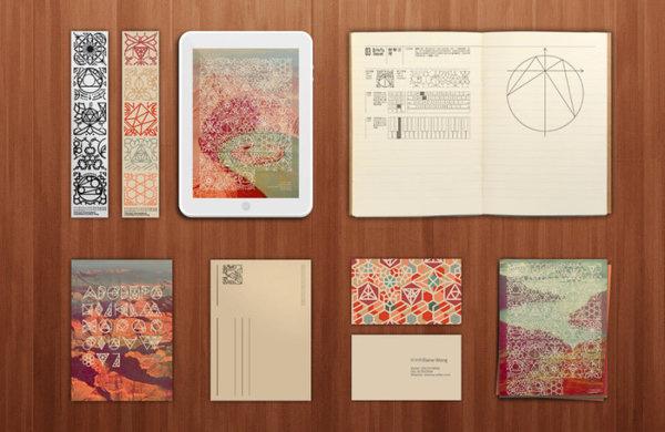 CDA画报>设制造>#2012我们毕业啦# Eureka图案设计/黄绮琳/广州美术学院_中国设计师联盟CDA画报
