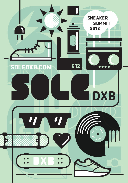 New Work: SoleDXB #nike #retro