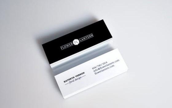 Floral design business cards - CardFaves #card #business