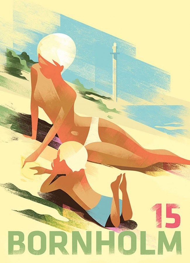 Art Deco Inspired Posters by Mads Berg
