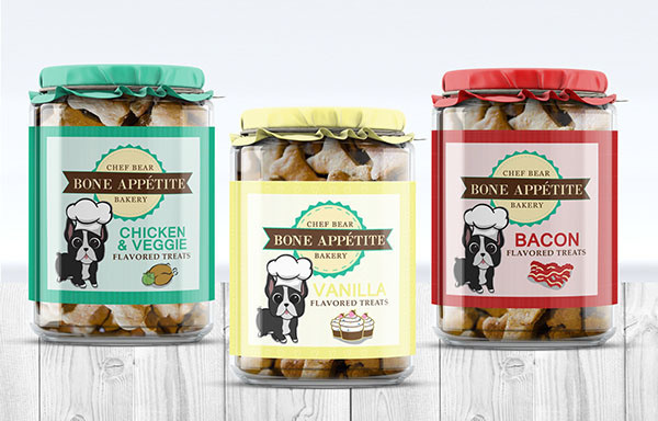 Dog Treat Package Design by Crystal Soto
