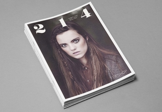 Topshop 214 Magazine AW/10 | USEFUL #print #design #photography #magazine
