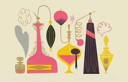 Glam-R-Us / Perfume - Hunt & Gather #illustration