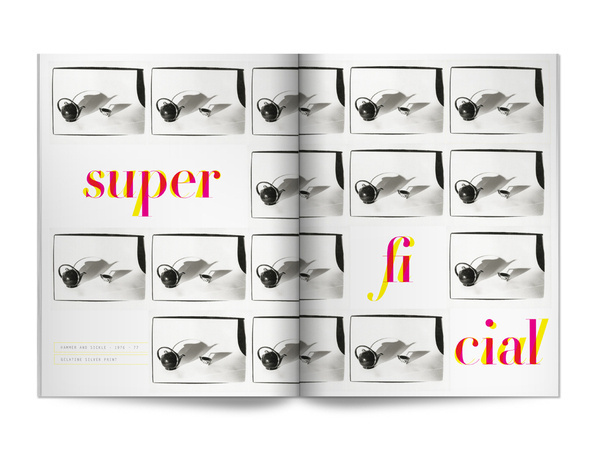 Portraits mixed with texts #layout #book