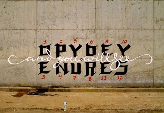 ..openyoureyesandyouwillsee.. | Flickr - Photo Sharing! #graffiti #paint #message #type #spray #typography