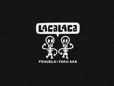 Dribbble - Lacalaca4 by Matt Vergotis #logo #illustration #branding #restaurant