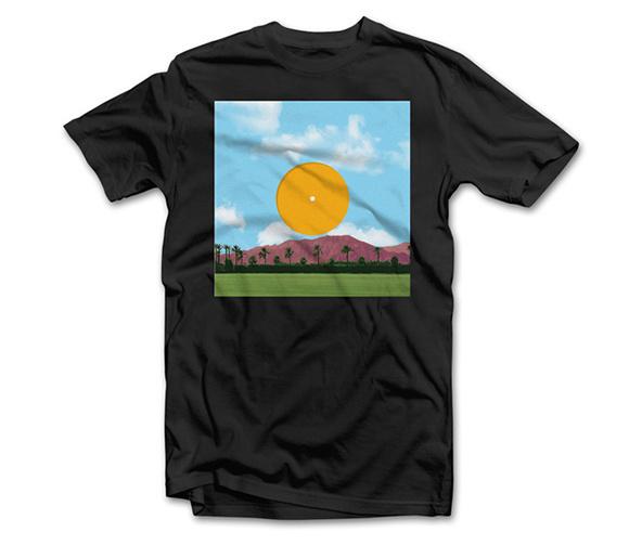 Coachella t-shirt / Edoardo Chavarin #festival #design #shirt #illustration #typograph #shirts