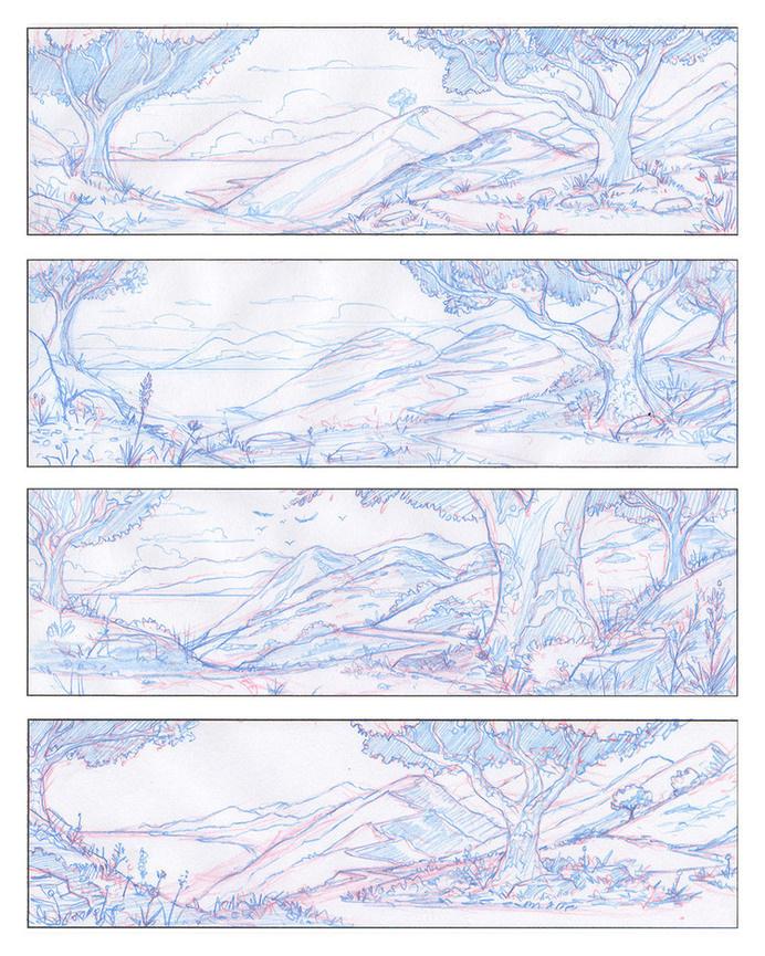 NHM · Earthmobile · Pencil Sketches #sketches #process