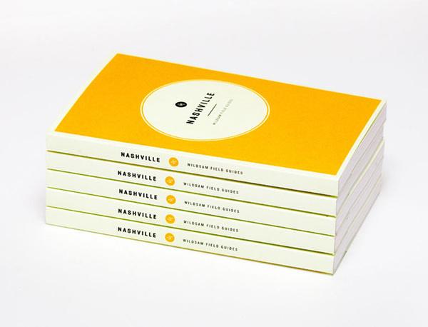 Wildsam Book #spine #wildsam #nashville #print #design #book #cover #guidebook #bind